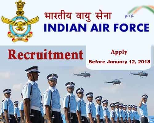 how to join indian airforce after 12th class