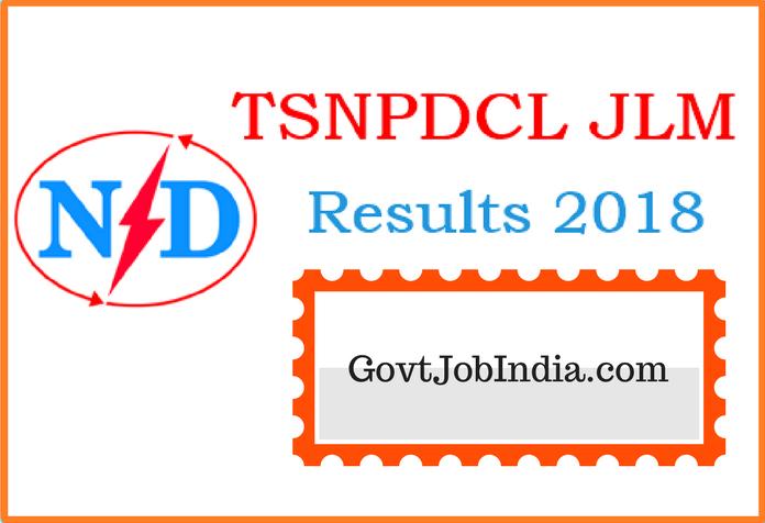 TSNPDCL JLM Results notification