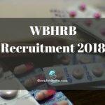 WBHRB Recruitment notification