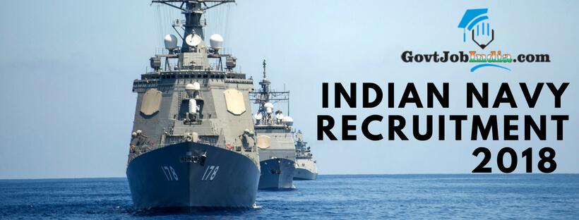 INDIAN NAVY RECRUITMENT Notification