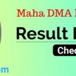 MAHA DMA Result Nagar Parishad Exam