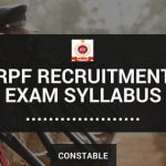 RPF Constable Syllabus and exam pattern