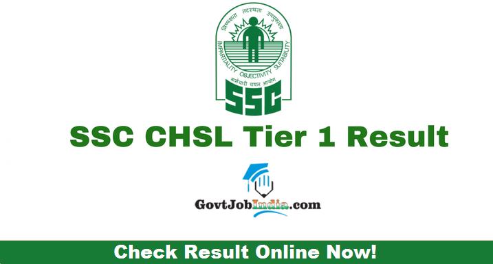 SSC CHSL Final Result
