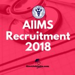 AIIMS Nursing Officer Recruitment Delhi