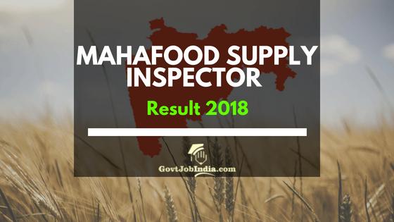 MAHAFood Supply inspector result 2018