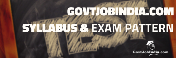 GovtJobIndia.com Exam Pattern