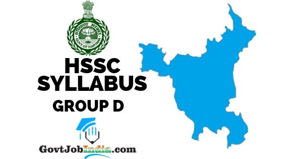 HSSC Group D Exam Pattern