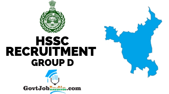 HSSC Group Recruitment