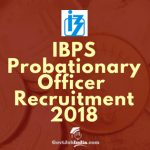IBPS PO Recruitment 2018