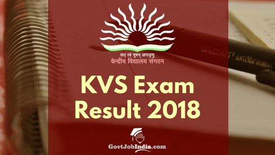 Kendriya Vidyalaya TGT PGT PRt Principal Cut off list 2019