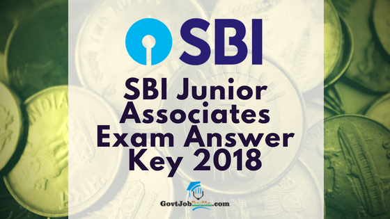 SBI JA Mains Answer key