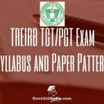 TREIRB Exam Pattern Syllabus pdf download