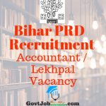 Bihar Panchayati Raj Recruitment