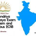 KVS Librarian Syllabus 2018