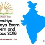 KVS Trained Graduate Teacher TGT Syllabus and Exam Pattern 2018
