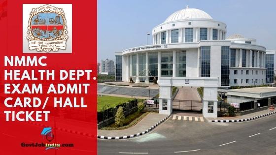 Navi mumbai Group C Admit card