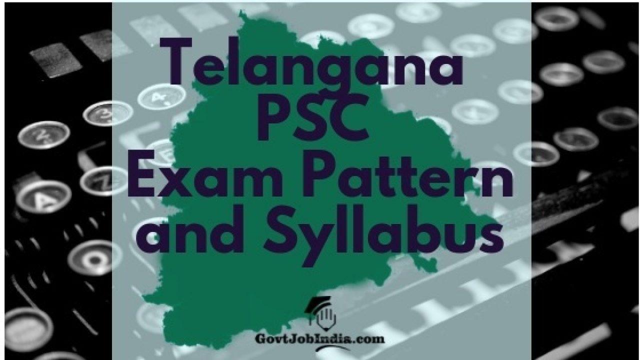 Telangana Panchayat Secretary Syllabus 2018 PDF Download in