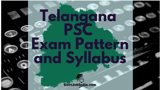 Telangana PSC Panchayat Secretary Syllabus 2018