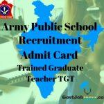 APS Admit Card TGT