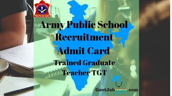 APS Admit Card TGT