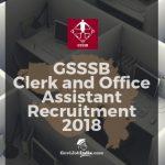 GSSSB Clerk Exam Syllabus 2018
