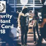 IB Security Assistant Exam hall ticket 2018