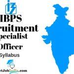 IBPS SO Recruitment Syllabus