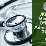 Jammu and Kashmir MO Exam hall ticket 2018