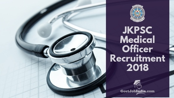JKPSC MO Recruitment Notification