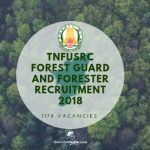 Tamil Nadu Forest Guard Recruitment 2018