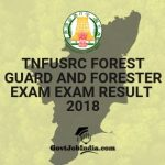 TNFUSRC Forest Guard and Forester Physical Exam Result 2018