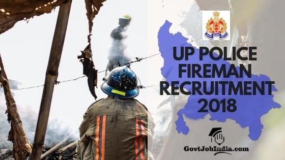 UP Fireman Recruitment 2018