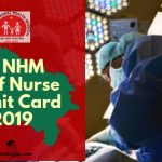 UP NHM Staff Nurse Exam Admit card Download 2019