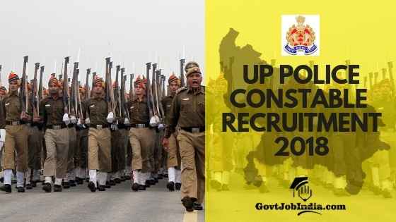 UP police Constable Recruitment Notification 2018