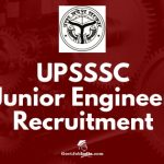 Uttar Pradesh Subordinate Services Selection Commission (UPSSSC) Recruitment 2018 - junior engineer