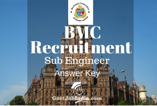 BMC Sub Engineer Answer Key