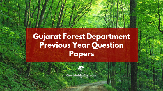 Gujarat Forest Guard practice papers