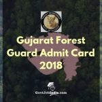 Gujarat Forest Guard Call Letter Download