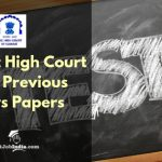 Gujarat High Court Peon old Question papers