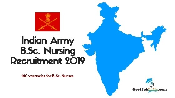 Indian Army MNS Exam Nursing officer Recruitment 2019
