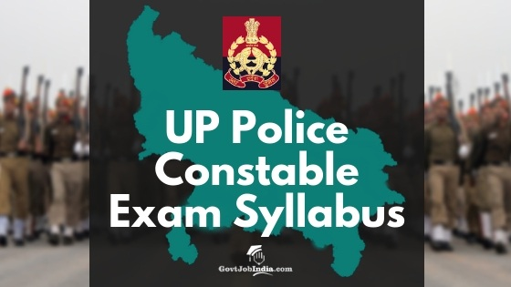 UP pOlice Constable Exam Syllabus and paper Pattern