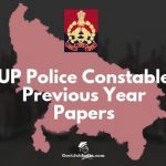 UP Police Constable Model Question papers