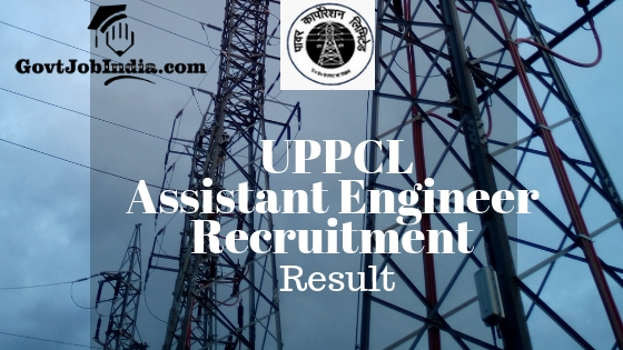 UPPCL Assistant Engineer Recruitment Result