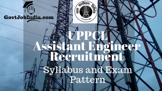 UPPCL Assistant Engineer Syllabus 2018 PDF - Download UPPCL