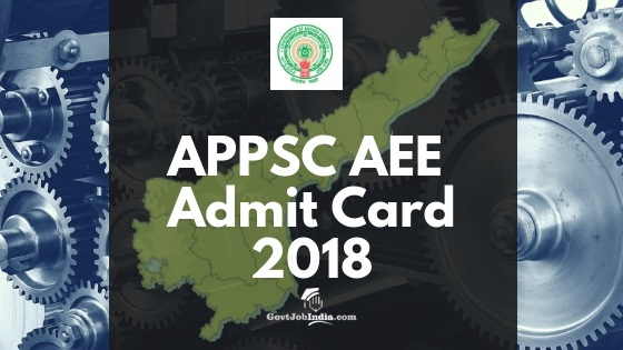 APPSC AEE Hall Ticket Download 2019