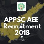 APPSC Assistant Executive Engineer Recruitment 2018