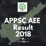 APPSC AEE Result, Cut off marks and Merit List