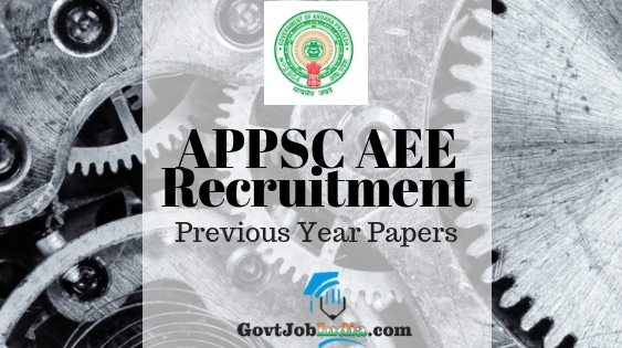 APPSC AEE previous year papers