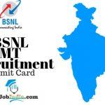 BSNL MT Recruitment Admit Card