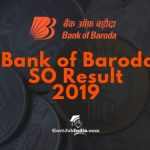 BOB SO result 2019